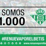 El Real Betis sigue batiendo cifras históricas y ya supera los 51.000 abonados