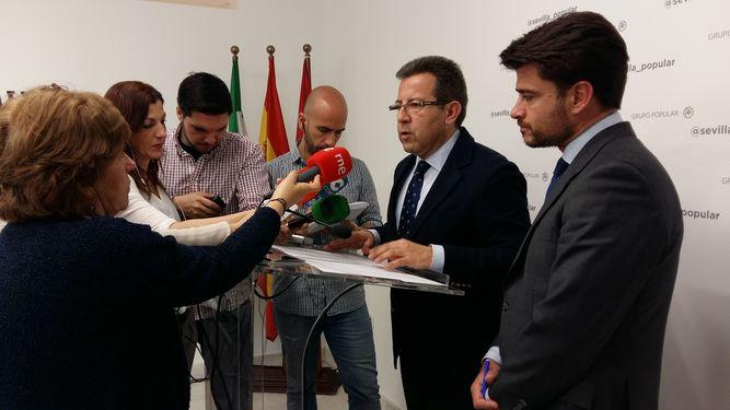 Beltrán Pérez ha cesado a Alberto Díaz como portavoz adjunto del PP