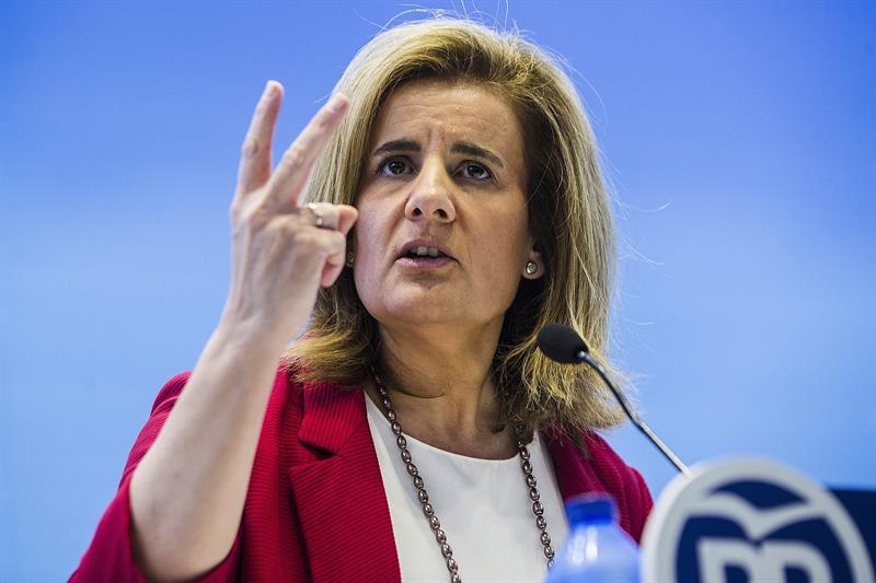 Fátima Báñez, ministra de Empleo.