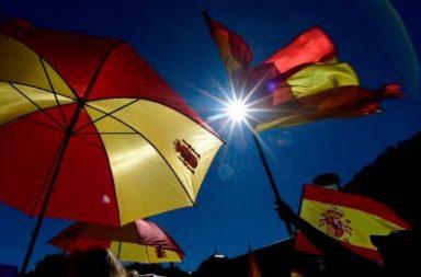 Banderas de España.