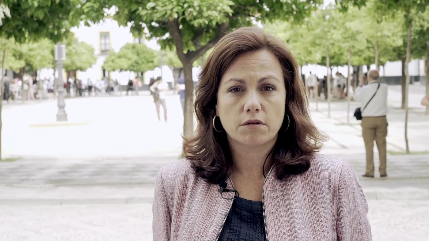 Cristina Murillo, decana del Colegio de Arquitectos de Sevilla.