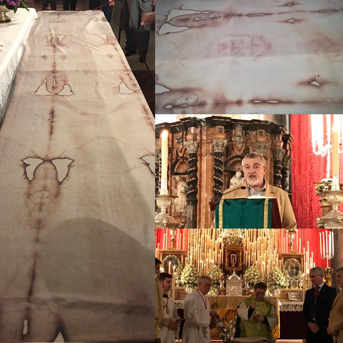 Santo Sudario del Buen Fin, regalo de Miñarro / Hermandad Buen Fin
