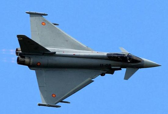 Eurofighter del Ejército del Aire.