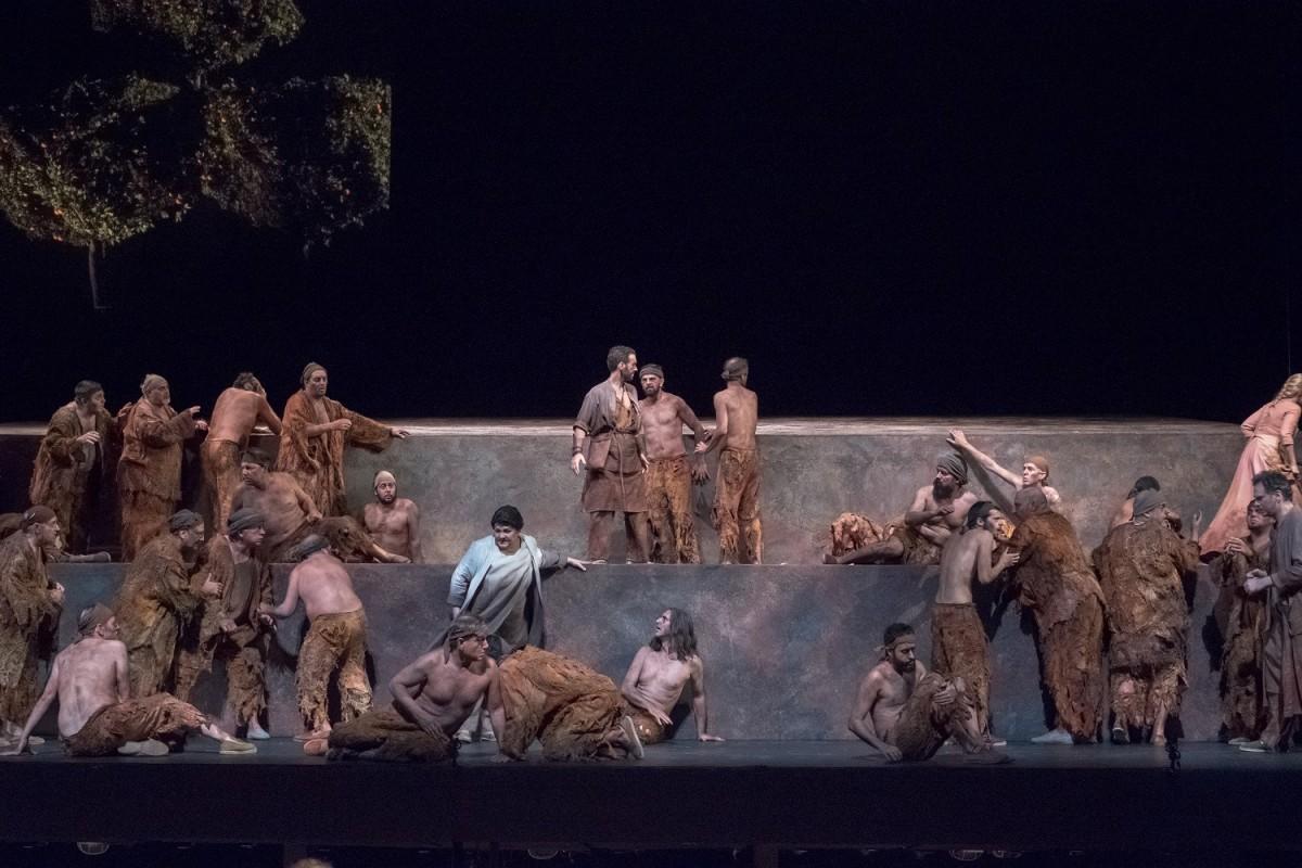 Ensayo general de Fidelio en el Teatro de la Maestranza.