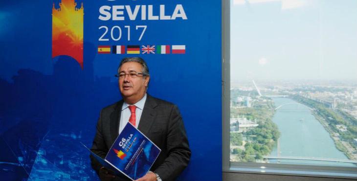 El ministro del Interior, Juan Ignacio Zoido, en el G-6.