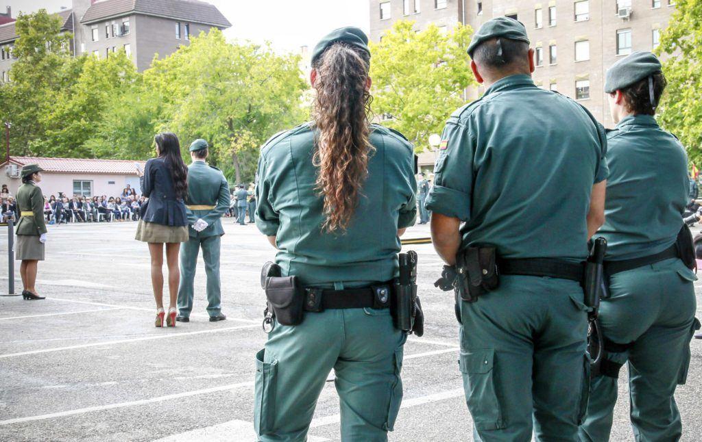 Miembros del Cuerpo de la Guardia Civil