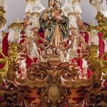 Nueva peana para la Virgen del Rosario de las Aguas / Hermandad de las Aguas