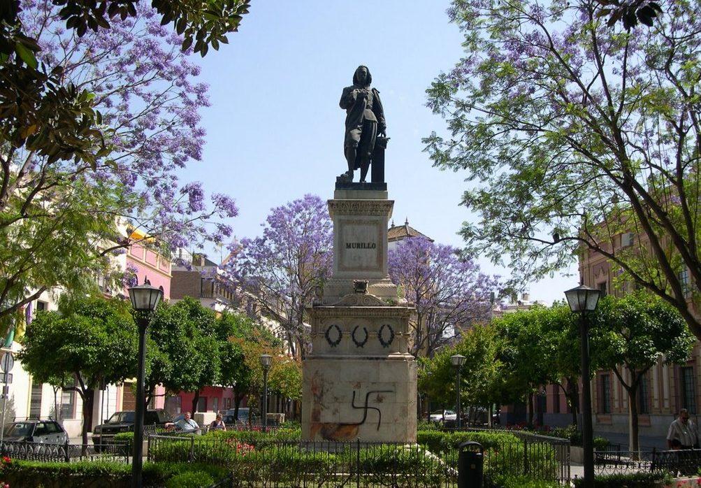 Plaza del Museo de Sevilla.