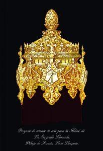 Casquillo nuevo cruz Cristo Lanzada | Hermandad Lanzada