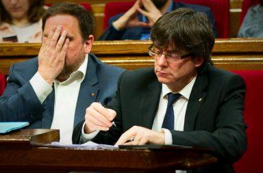 Sorpresa general por la huída de Puigdemont y cinco ex miembros de su gobierno.