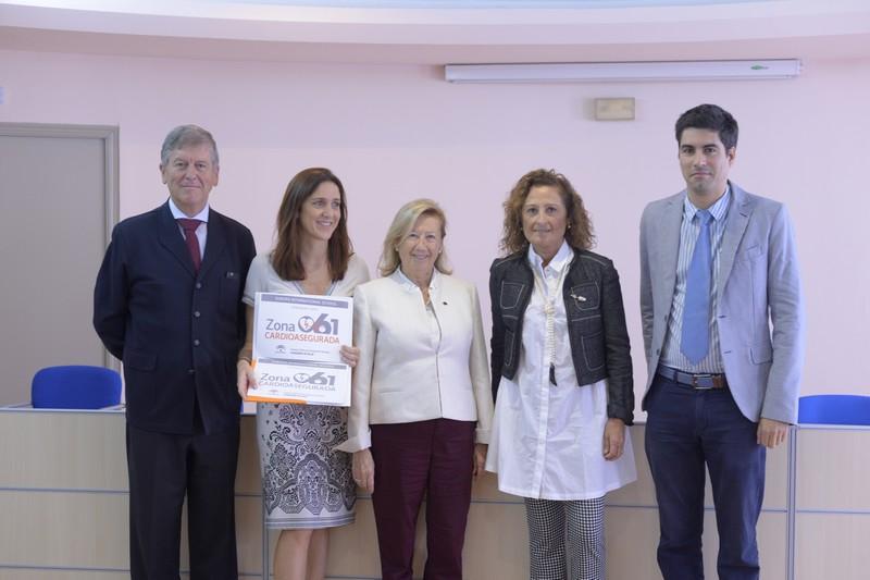 El Colegio Internacional Europa recibe el reconocimiento del 061.