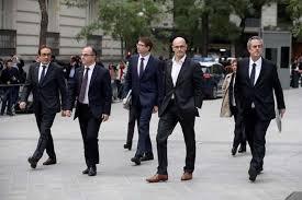 La juez ha distribuido a los exconsejeros por diferentes centros penitenciarios de Madrid.
