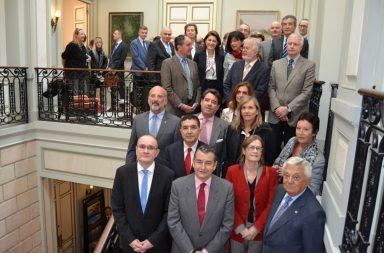 Embajadores y empresarios de toda Europa se reúnen en la Cámara de Comercio de Sevilla.