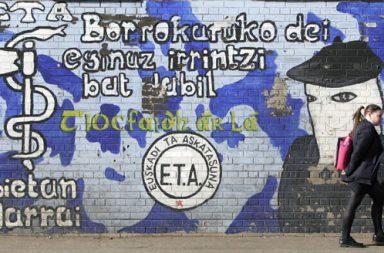 Mural a favor de ETA.