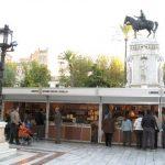El pregón de Juan Eslava Galán abre la 40 edición de la Feria del Libro Antiguo y de Ocasión