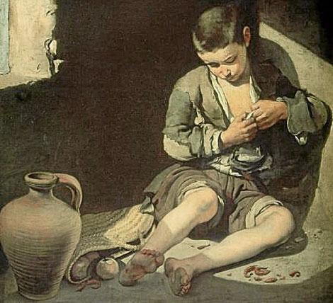 Joven mendigo de Bartolomé Esteban Murillo.