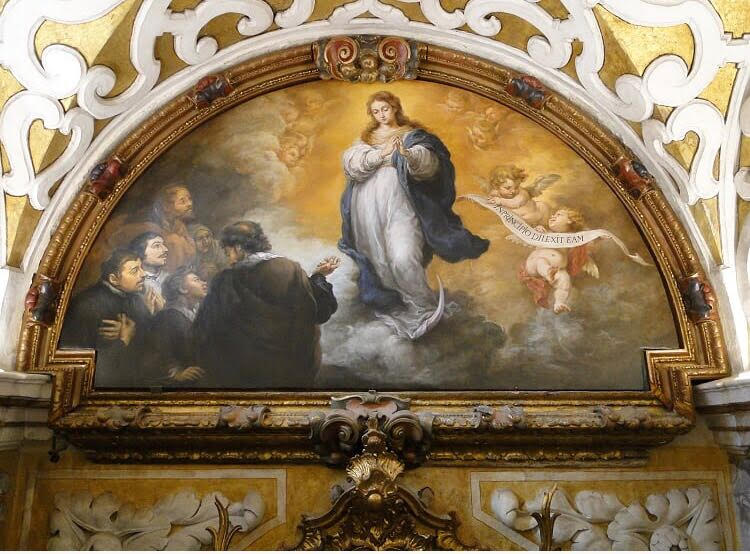 El Triunfo de la Inmaculada Concepción.