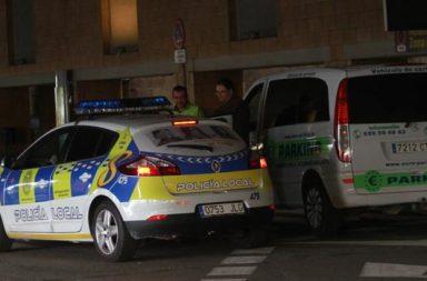 Un patrullero de la Policía Local