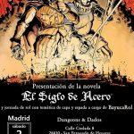 """El Alcázar de Toledo acoge la presentación de """"La Saga del Acero II"""", obra de los ilustradores sevillanos Tenorio y Mora"""