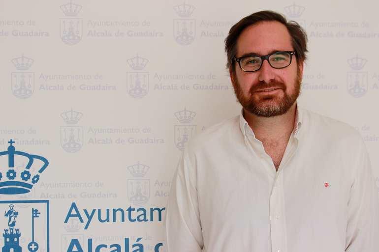 El candidato para dirigir el PP de Alcalá, José Manuel Villanueva