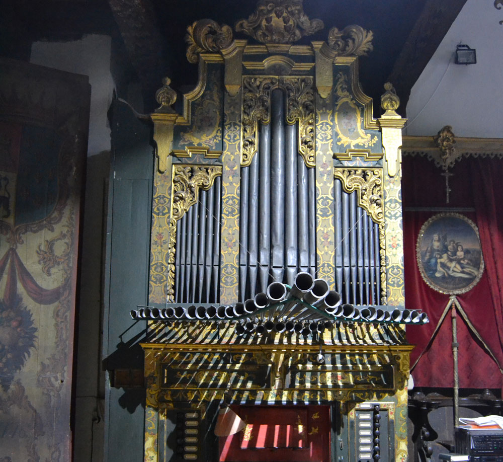 Órgano del convento de Santa Inés de Sevilla.