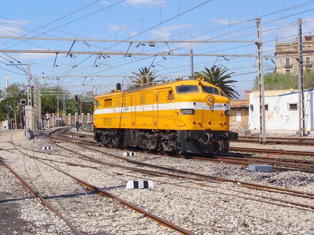 Ferrocarril de mercancías