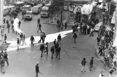 Manifestación en Sevilla del 4 de diciembre de 1977.