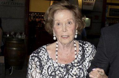 Carmen Franco Polo ha muerto en Madrid a los 91 años.