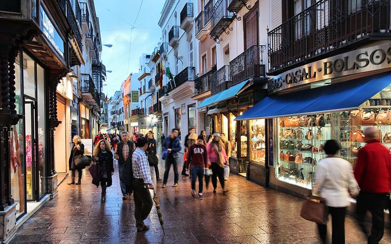 Campaña para fomentar las compras en los pequeños comercios.