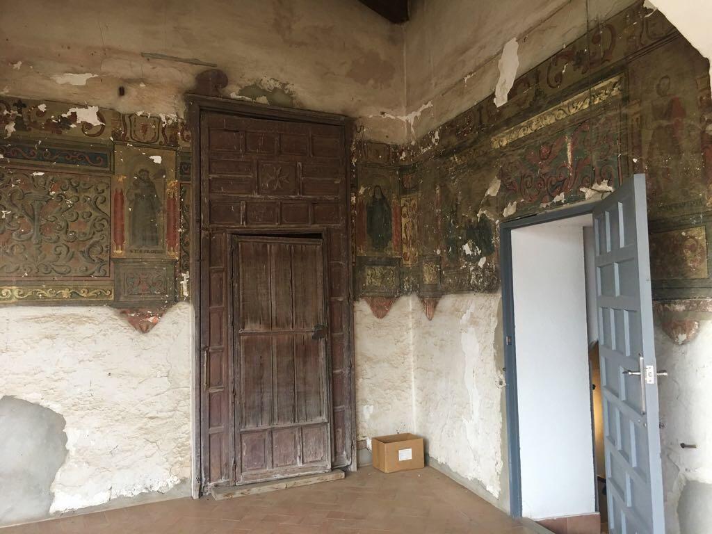 Estado actual de algunas dependencias del convento de Santa Inés.