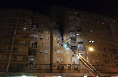 Incendio en Amate.