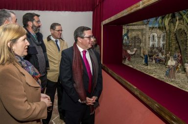 Inaugurado el Belén del Círculo Mercantil de Sevilla.