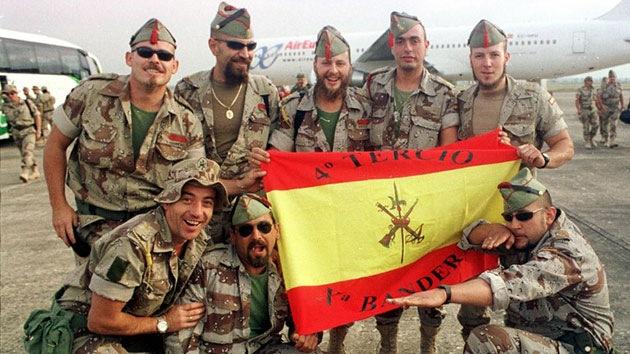 Legionarios en Irak.