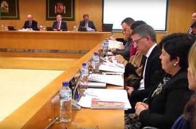 Pleno Diputación de Sevilla.