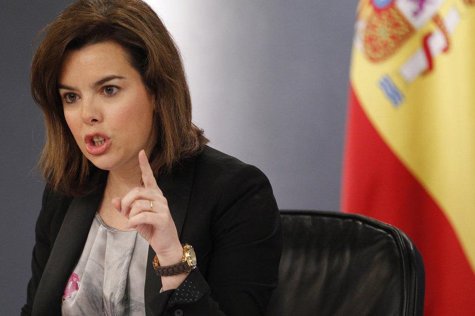 Soraya Sáenz de Santamaría comparecerá a puerta cerrada.