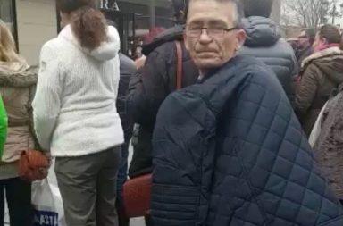 El supuesto carterista que opera en las calles del centro de Sevilla