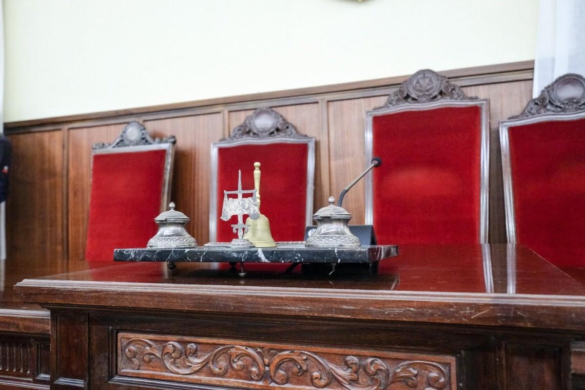 Sala donde se celebrará en Sevilla el juicio de los ERE