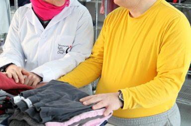 Voluntarios de la Orden Hospitalaria de San Juan de Dios.