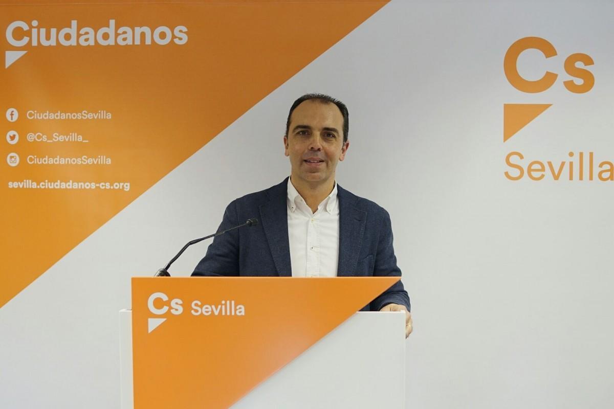 Javier Millán, de Ciudadanos.