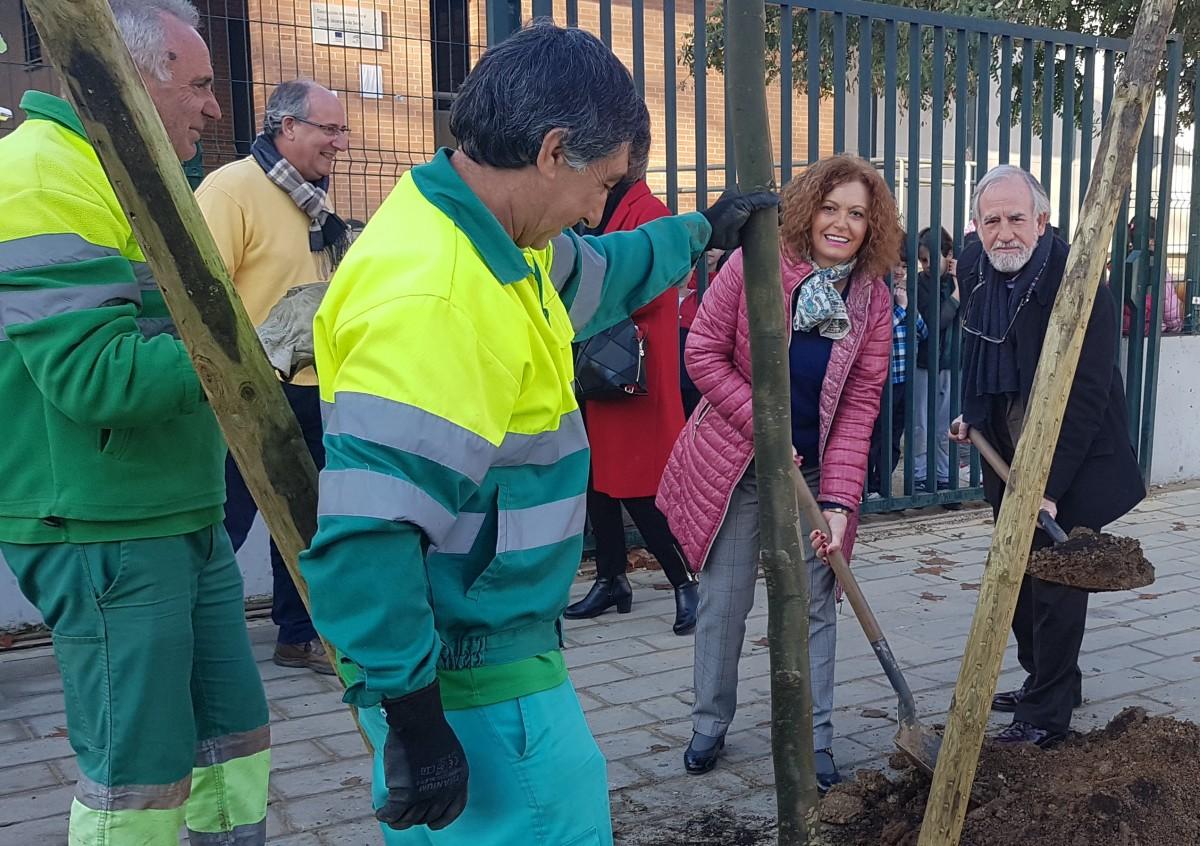 Los 400 nuevos árboles han comenzado a plantarse en la zona Este de la ciudad
