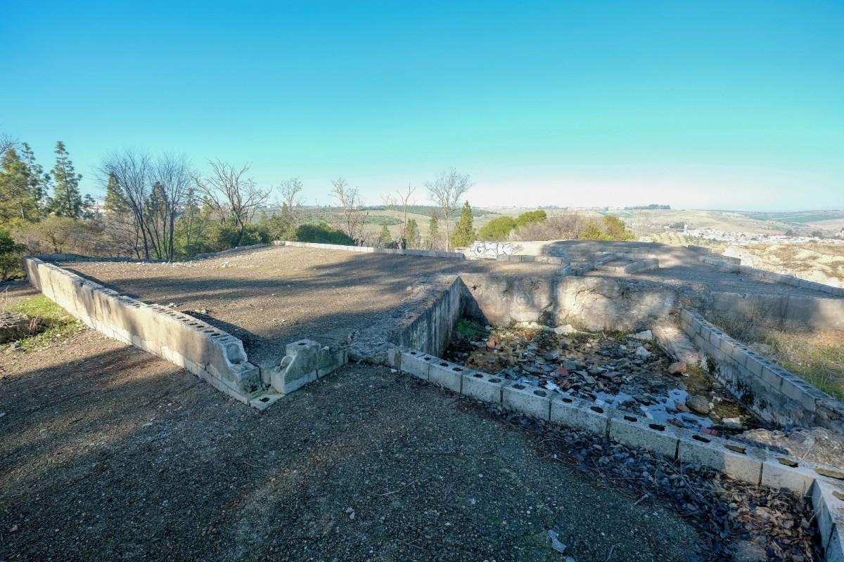 Estado actual del yacimiento de El Carambolo, en total estado de abandono. Foto: Lince