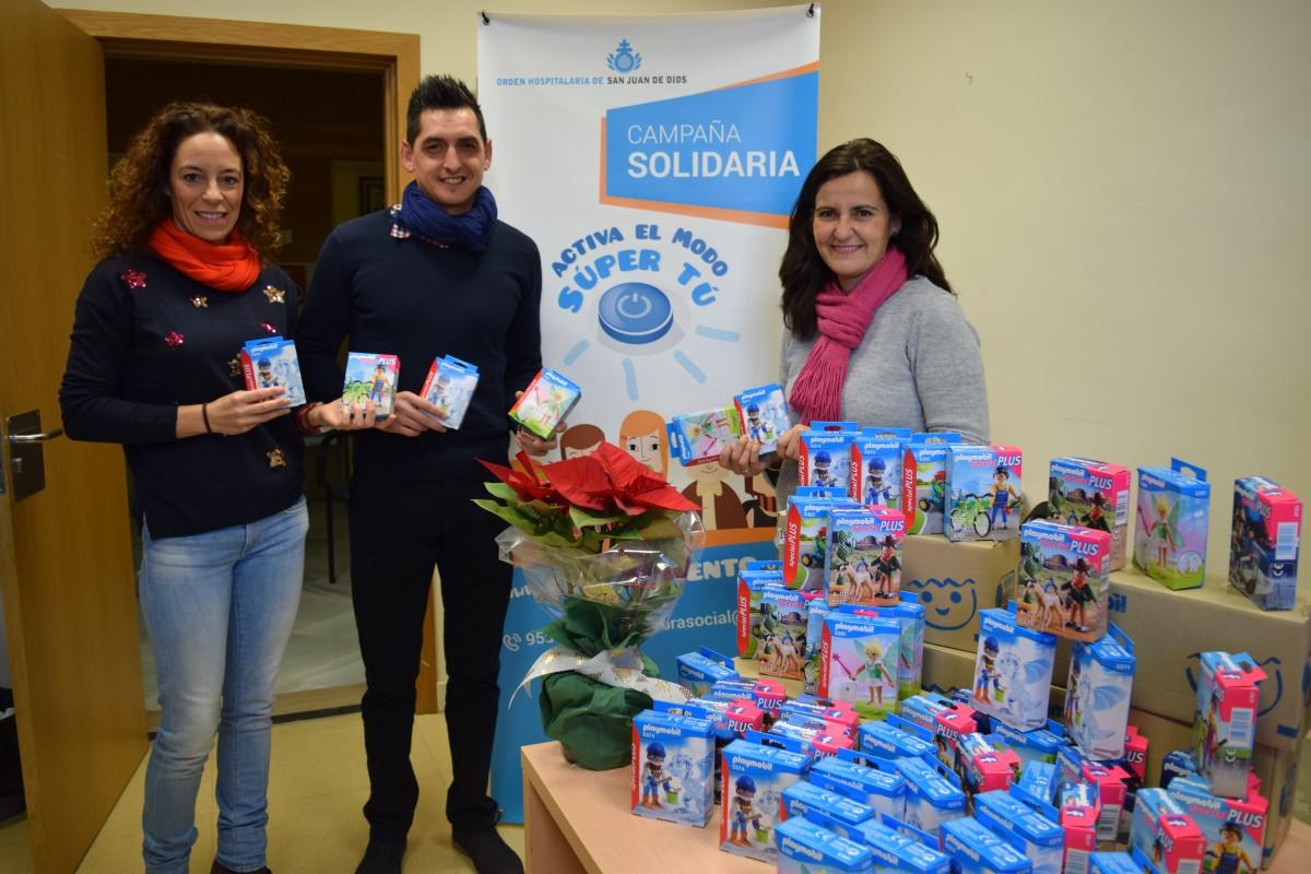 179 niños de familias usuarias de los Servicios Sociales de San Juan de Dios en Sevilla recibirán estos regalos el día de Reyes