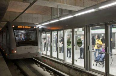 Metro de Sevilla.