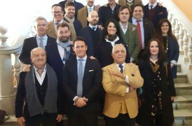 """Artistas participantes en la exposición """"Reflejos de Murillo"""""""