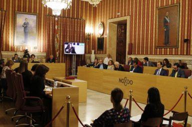 Pleno municipal de Sevilla