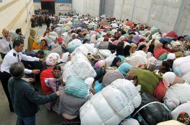 Miles de personas se dedican al tráfico de mercancías entre Ceuta y Marruecos
