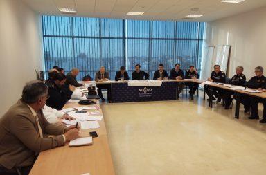 Reunión del Cecop sobre la seguridad en la Semana Santa 2018