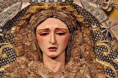 Virgen de los Ángeles de la Hermandad de Los Negritos