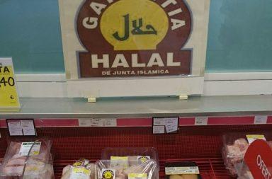 """Productos de alimentación con garantía """"halal"""""""