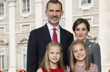 Los Reyes de España en la Navidad de 2018